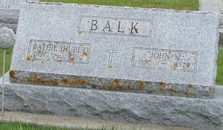BALK, JOHN M. - Winneshiek County, Iowa | JOHN M. BALK