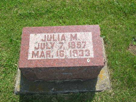 BANNING, JULIA M. - Winneshiek County, Iowa | JULIA M. BANNING