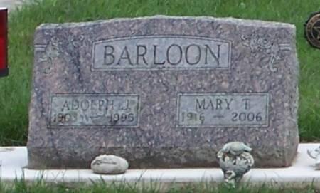 BARLOON, MARY T - Winneshiek County, Iowa | MARY T BARLOON