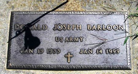 BARLOON, DONALD JOSEPH - Winneshiek County, Iowa | DONALD JOSEPH BARLOON