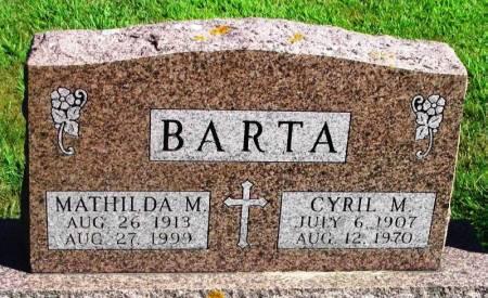 BARTA, CYRIL M. - Winneshiek County, Iowa | CYRIL M. BARTA