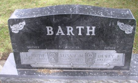 BARTH, SUSAN M. - Winneshiek County, Iowa | SUSAN M. BARTH