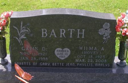 BARTH, WILMA A. - Winneshiek County, Iowa | WILMA A. BARTH
