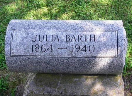 BARTH, JULIA - Winneshiek County, Iowa   JULIA BARTH