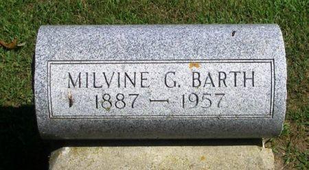 BARTH, MILVINE G. - Winneshiek County, Iowa | MILVINE G. BARTH