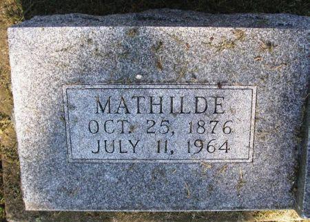 BARTHELL, MATHILDE - Winneshiek County, Iowa | MATHILDE BARTHELL