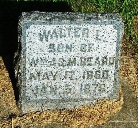 BEARD, WALTER E. - Winneshiek County, Iowa | WALTER E. BEARD