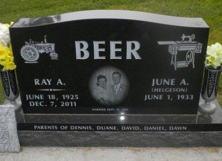 BEER, RAY A. - Winneshiek County, Iowa   RAY A. BEER