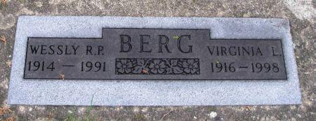 BERG, WESSLY R. P. - Winneshiek County, Iowa | WESSLY R. P. BERG