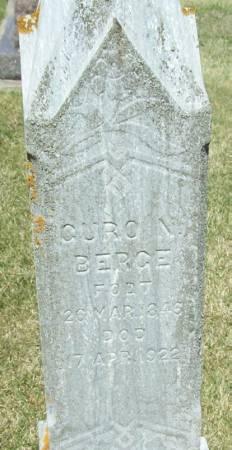 BERGE, GURO N - Winneshiek County, Iowa | GURO N BERGE
