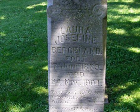 BERGELAND, LAURA JOSEFINE - Winneshiek County, Iowa | LAURA JOSEFINE BERGELAND