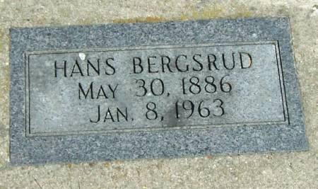 BERGSRUD, HANS - Winneshiek County, Iowa | HANS BERGSRUD