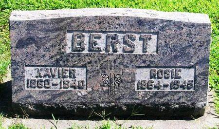 BERST, ROSIE - Winneshiek County, Iowa   ROSIE BERST