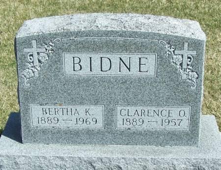 BIDNE, BERTHA K - Winneshiek County, Iowa | BERTHA K BIDNE