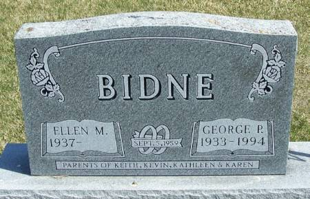 BIDNE, GEORGE P - Winneshiek County, Iowa   GEORGE P BIDNE