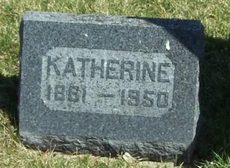 BIDNE, KATHERINE - Winneshiek County, Iowa   KATHERINE BIDNE