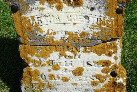 BIDNE, MARTHA GJERTINE SVENDSDATTER - Winneshiek County, Iowa | MARTHA GJERTINE SVENDSDATTER BIDNE