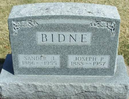 BIDNE, JOSEPH P - Winneshiek County, Iowa | JOSEPH P BIDNE
