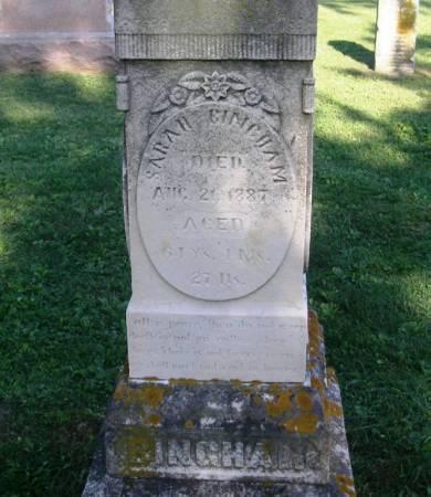 BINGHAM, SARAH H. - Winneshiek County, Iowa | SARAH H. BINGHAM