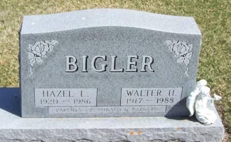 BIGLER, HAZEL L - Winneshiek County, Iowa | HAZEL L BIGLER