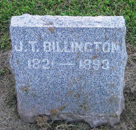 BILLINGTON, J. T. - Winneshiek County, Iowa | J. T. BILLINGTON