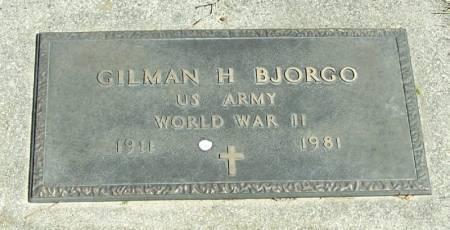 BJORGO, GILMAN H - Winneshiek County, Iowa | GILMAN H BJORGO