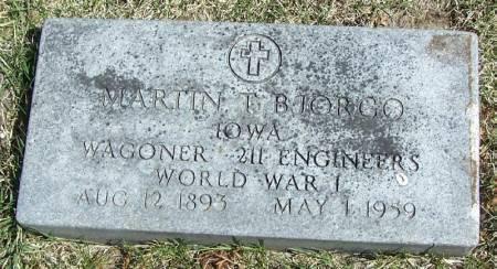 BJORGO, MARTIN T - Winneshiek County, Iowa | MARTIN T BJORGO