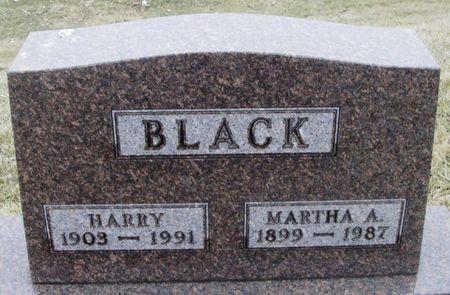 BLACK, MARTHA A. - Winneshiek County, Iowa | MARTHA A. BLACK