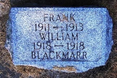 BLACKMARR, FRANK - Winneshiek County, Iowa | FRANK BLACKMARR