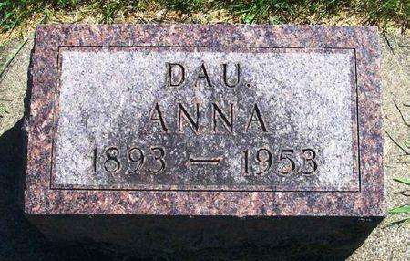 BLONG, ANNA - Winneshiek County, Iowa   ANNA BLONG