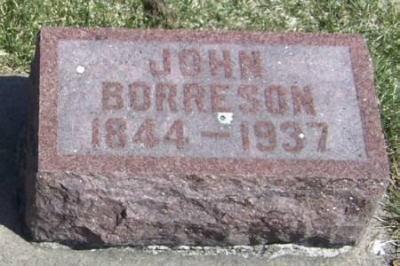 BORRESON, JOHN - Winneshiek County, Iowa | JOHN BORRESON