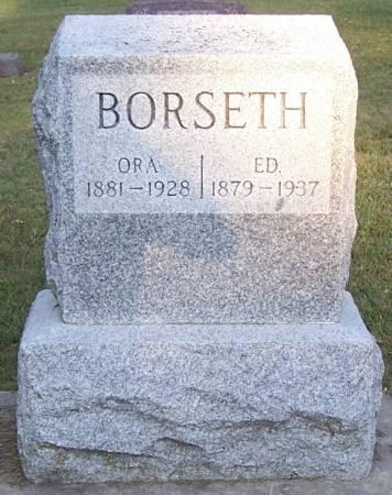 BORSETH, ED - Winneshiek County, Iowa | ED BORSETH