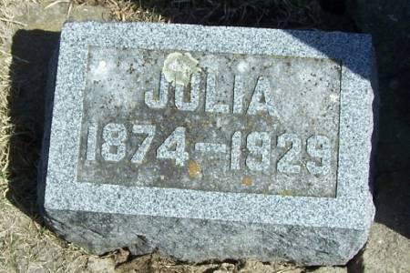 BORSHEIM, JULIA - Winneshiek County, Iowa | JULIA BORSHEIM