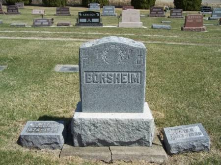 BORSHEIM, PETER FAMILY STONE - Winneshiek County, Iowa   PETER FAMILY STONE BORSHEIM