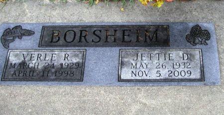 BORSHEIM, VERLE R. - Winneshiek County, Iowa   VERLE R. BORSHEIM