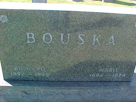 BOUSKA, MARIE - Winneshiek County, Iowa | MARIE BOUSKA