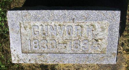 BRAGESTAD, GUNVOR K. - Winneshiek County, Iowa   GUNVOR K. BRAGESTAD