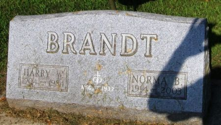 BRANDT, NORMA B. - Winneshiek County, Iowa | NORMA B. BRANDT