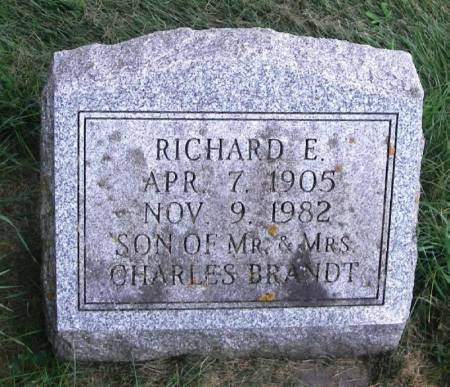 BRANDT, RICHARD E. - Winneshiek County, Iowa | RICHARD E. BRANDT