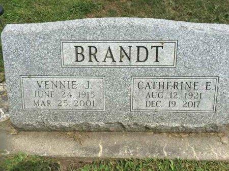 BRANDT, VENNIE J. - Winneshiek County, Iowa   VENNIE J. BRANDT