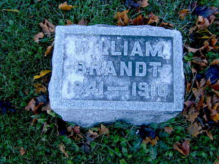 BRANDT, WILLIAM - Winneshiek County, Iowa | WILLIAM BRANDT