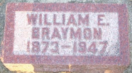 BRAYMON, WILLIAM E - Winneshiek County, Iowa | WILLIAM E BRAYMON