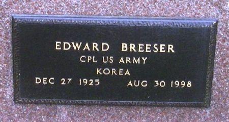 BREESER, EDWARD - Winneshiek County, Iowa | EDWARD BREESER