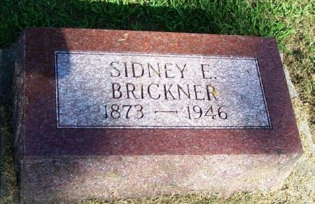 BRICKNER, SIDNEY E. - Winneshiek County, Iowa | SIDNEY E. BRICKNER