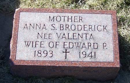 BRODERICK, ANNA S - Winneshiek County, Iowa | ANNA S BRODERICK