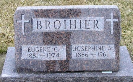 BROIHIER, JOSEPHINE A. - Winneshiek County, Iowa | JOSEPHINE A. BROIHIER