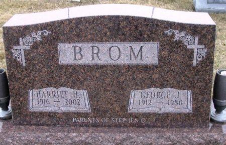 BROM, GEORGE J. - Winneshiek County, Iowa   GEORGE J. BROM