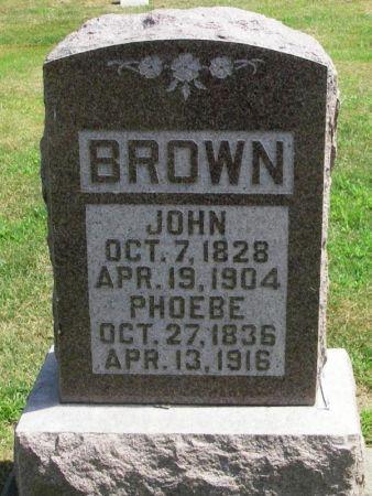 BROWN, PHOEBE - Winneshiek County, Iowa | PHOEBE BROWN
