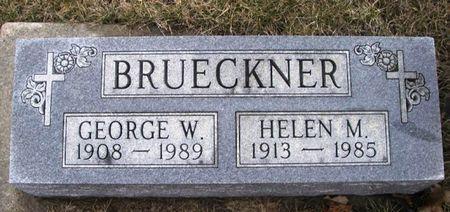 BRUECKNER, HELEN M. - Winneshiek County, Iowa | HELEN M. BRUECKNER
