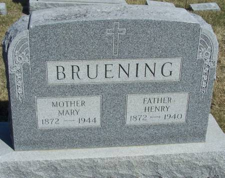 BRUENING, HENRY - Winneshiek County, Iowa | HENRY BRUENING